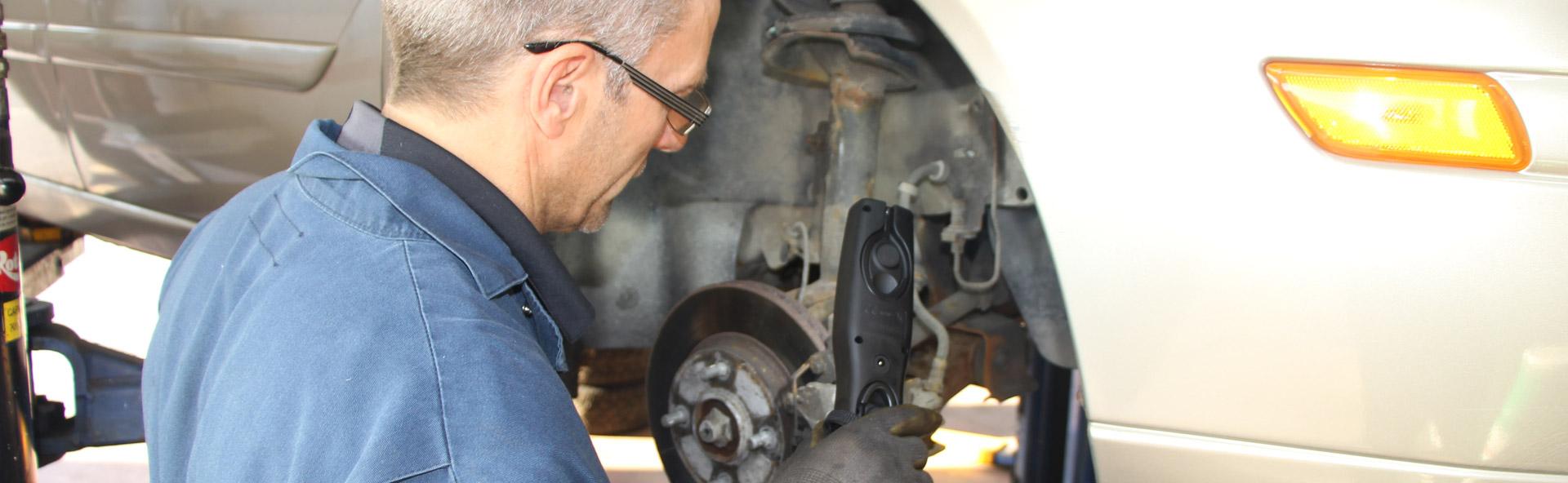 Freins et inspection